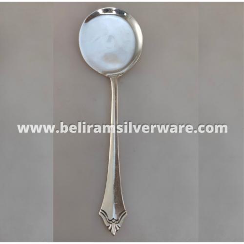 Round Bowl Silver Spoon