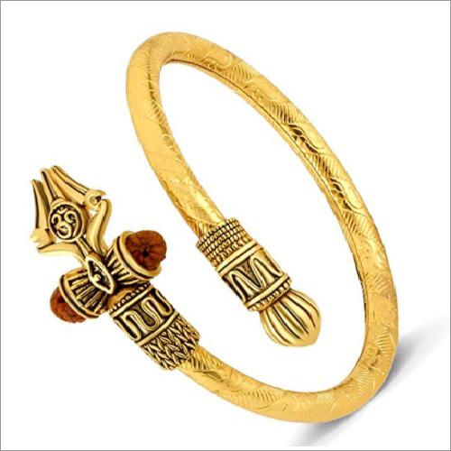 Bahubali Trishul Golden Kada