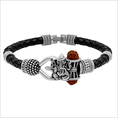 Ganpati Silver Bracelets