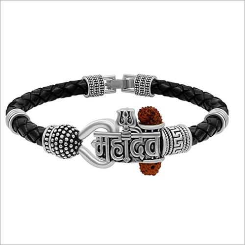 Mahadev Silver Bracelets