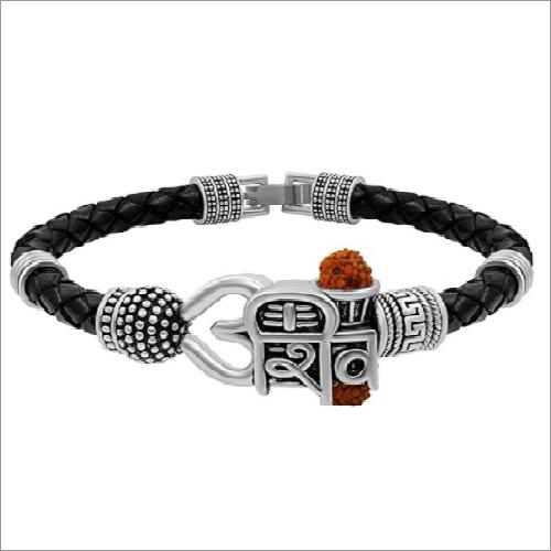 Shivji Word Silver Bracelet