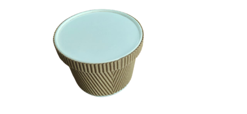500ML Paper Ripple Container