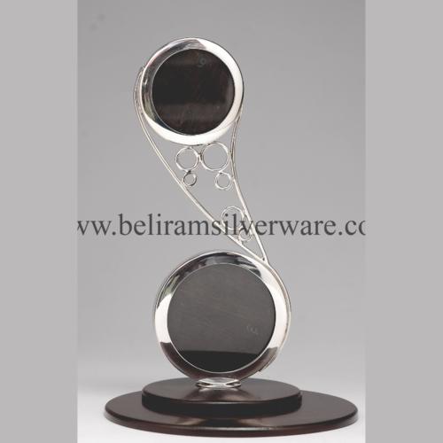 Unique Modern Silver Photo Frame
