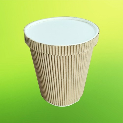 750ML Paper Ripple Container