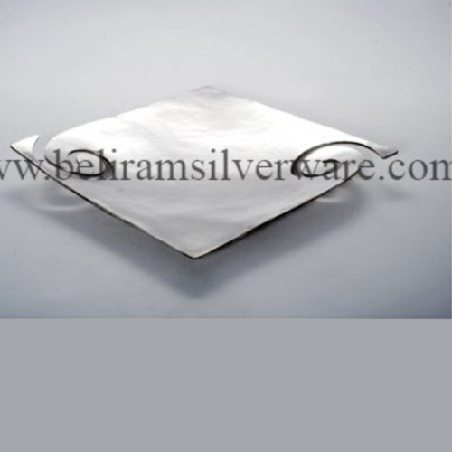 Seampless Finish Oval Silver Platter