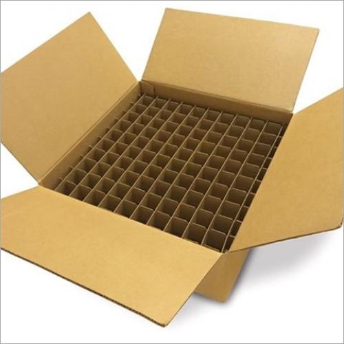 Brown Corrugated Partition Box