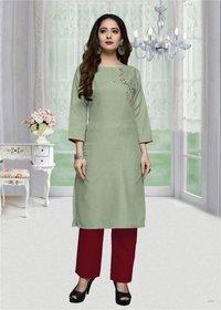 Galaxy Vol-5 Women Ethnic Cotton Long Kurtis
