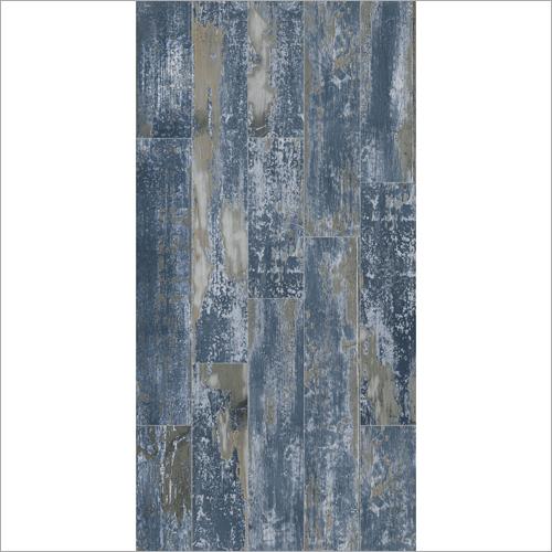 Strip Line Blue Wooden Flooring
