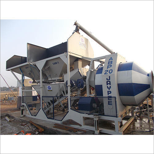 Jaypee Diesel Engine Automatic Batching Plant (Reversible-Pan)
