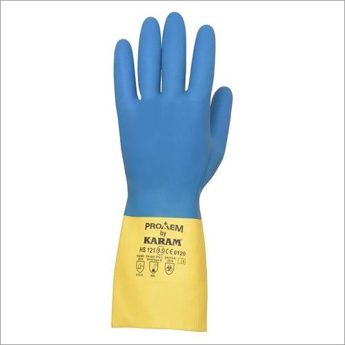 Karam Neoprene Safety Natural Rubber Gloves