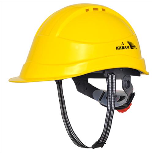 Shelblast Karam Yellow Safety Helmet