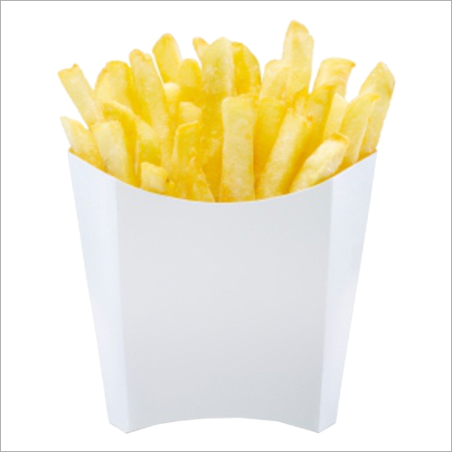 French Fries Packaging White  Box