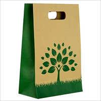Printed D Shopping Bag