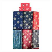 Chanderi Printed Rayon Cloth Fabric