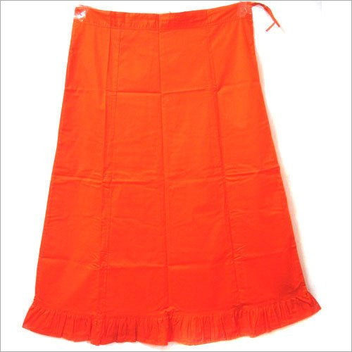 Orange Poplin Petticoat