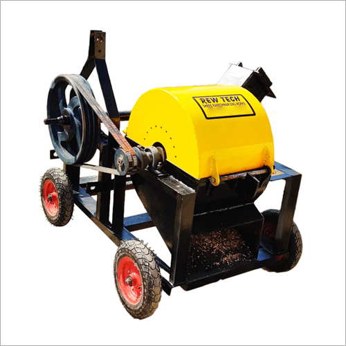 Wood Sawdust Machine Tractor PTO Operated