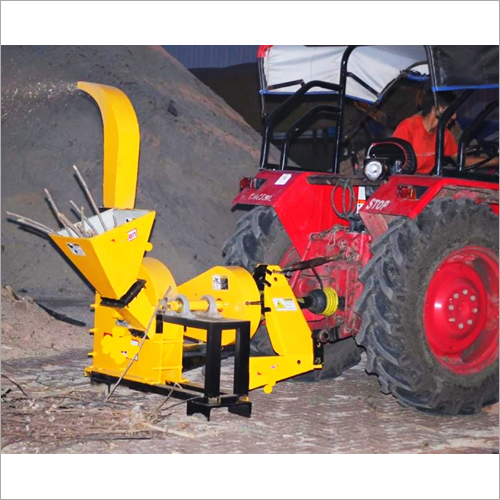 Stallion Tractor Operated Wood Chipper Machine