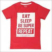Boys Round Neck T-Shirt