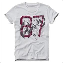 Mens Round Neck Regular T-Shirt