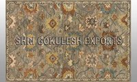 Indian New Style Wool Flat Weave Decorative Carpets
