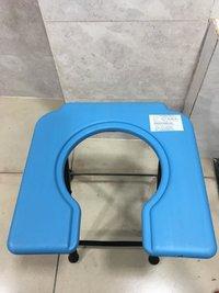 COMMODE STOOL PLASTIC TOP