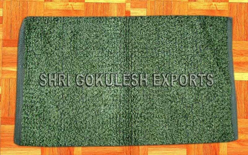 Indian Handmade Chenille Flatweave Floor Carpets