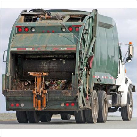 Mild Steel Garbage Truck