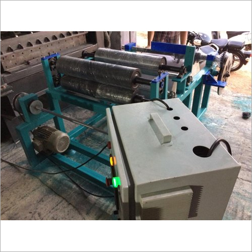 Semi Automatic Dinning Paper Rewinding Machine