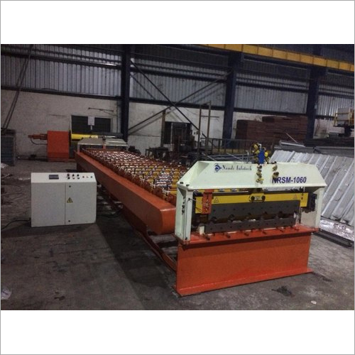 Semi Automatic Roofing Sheet Making Machine