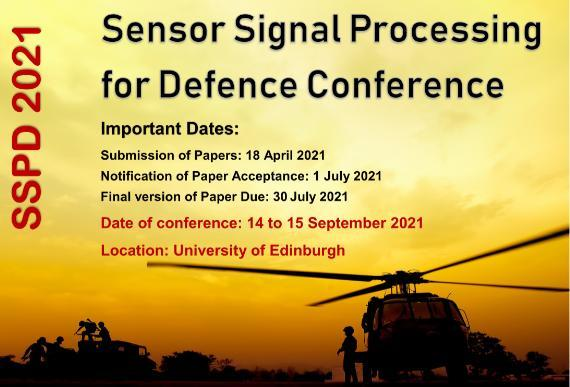 Sensor Signal Processing for Defence Conference