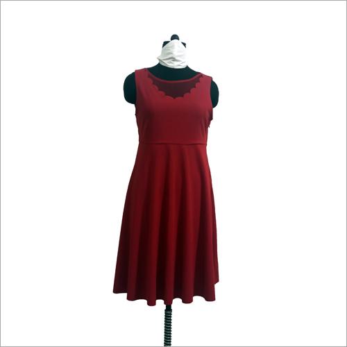 Ladies Sleeveless Short Dress