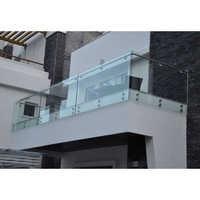 Tempered Glass Balcony Railing