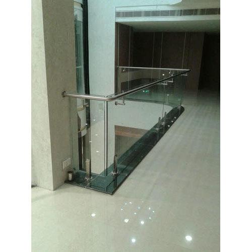 Indoor Frameless Glass Railing