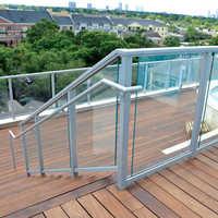 Clove Aluminum Glass Railing