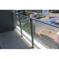 Frameless Aluminum Glass Railing