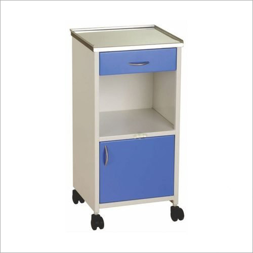 Mild Steel Hospital Bedside Locker