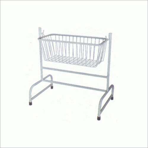 Mild Steel Hospital Baby Cradle