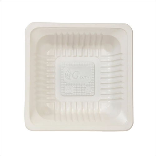PVC Snacks Square Bowl