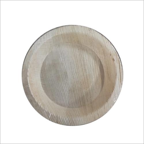 8 Inch Areca Round Plate