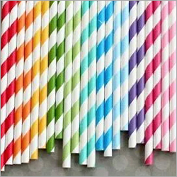 Fancy Printed Paper Straw