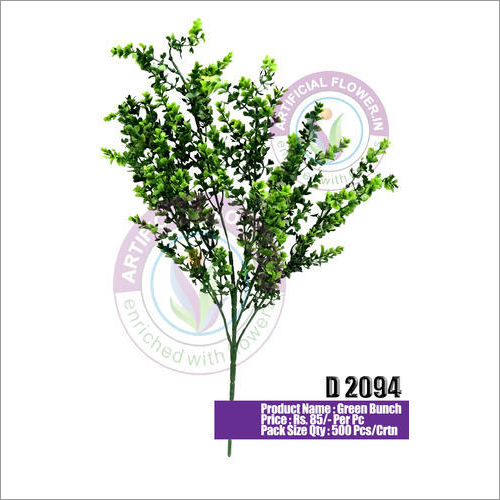 D2094 Artificial Green Leaves Bunch