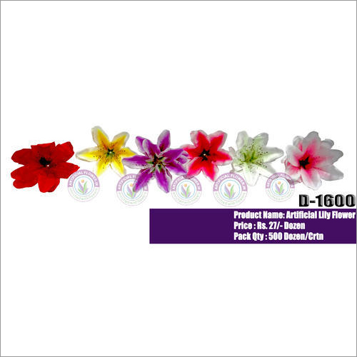 D1600 Artificial Lily Loose Flowers