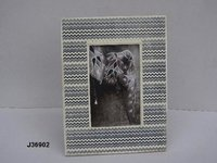 Bone Inlay Photo Frame Printed Pattern