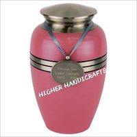 Pink Gloss Cremation Urn