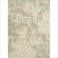 Hand Knotted Wool And Viscose Rug