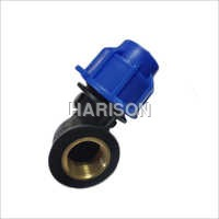 PP Compression Fittings Female Elbow