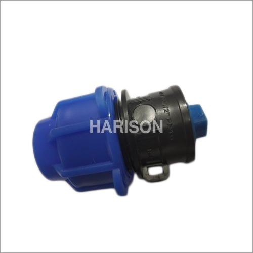 PP Compression End Cap Fitting