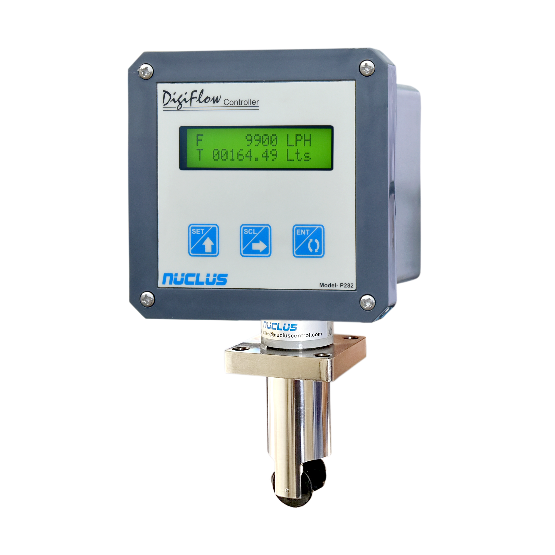 Digital Flow Indicator Field Mounting