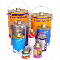 Metal Round Integrated Top Cans