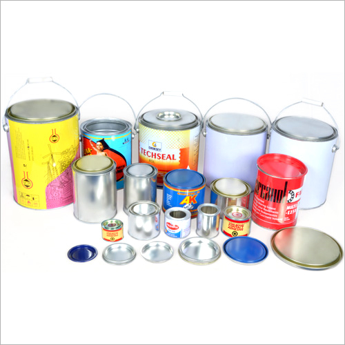 Metal Round Double Tight Top Cans